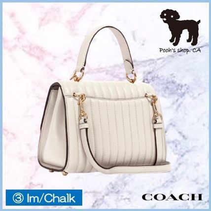 Coach ショルダーバッグ・ポシェット 【COACH】Tilly Top Handle With Linear Quilting◆国内発送◆(11)