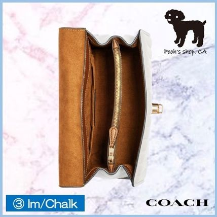 Coach ショルダーバッグ・ポシェット 【COACH】Tilly Top Handle With Linear Quilting◆国内発送◆(12)