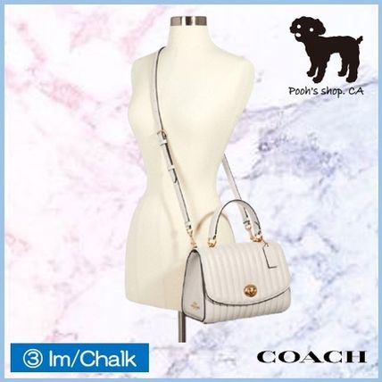 Coach ショルダーバッグ・ポシェット 【COACH】Tilly Top Handle With Linear Quilting◆国内発送◆(13)