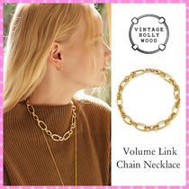 【VINTAGE HOLLYWOOD】Volume Link Chain Necklace〜ネックレス