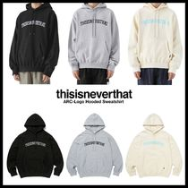 ◆thisisneverthat◆ ARC-Logo hooded Sweatshirt 3色 韓国発