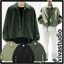 ★VIVASTUDIO★ LIGHT SHIRT JACKET J.A★3色★