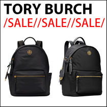 【TORY BURCH】黒色バックパック☆Piper Nylon Backpack//SALE//