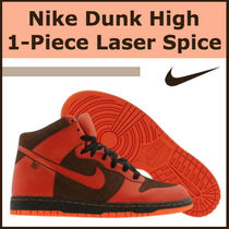 Nike Dunk High 1-Piece Laser Spice オレンジ
