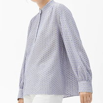 """""""ARKET"""" Embroidered Blouse Lilac"""
