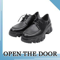 OPEN THE DOOR★MEN'S OXFORD PENNY LOAFER SHOES(6cm)