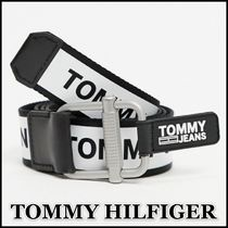 【TOMMY JEANS】webbed ロゴベルト★送料込★