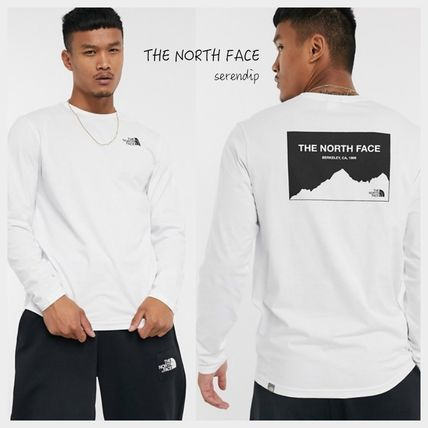 THE NORTH FACE Tシャツ・カットソー THE NORTH FACE*Horizon Box 長袖Tシャツ*White*送料込