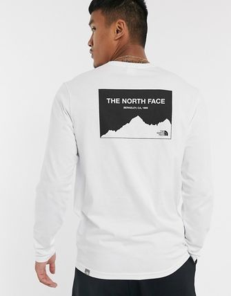 THE NORTH FACE Tシャツ・カットソー THE NORTH FACE*Horizon Box 長袖Tシャツ*White*送料込(3)
