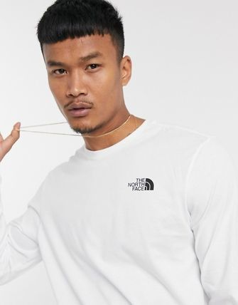THE NORTH FACE Tシャツ・カットソー THE NORTH FACE*Horizon Box 長袖Tシャツ*White*送料込(4)