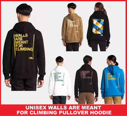 【セール/送料・関税込み】UNISEX WALLS ARE MEANT FOR CLIMBING