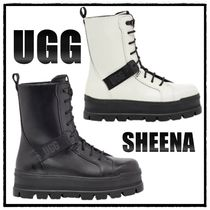 COOL★【UGG】SHEENA 防水レザー レースアップブーツ 2COLORS