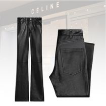 ★20 Winter★新作★CELINE★SOFT LAMBS DYLAN TROUSERS パンツ