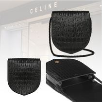 ★20 冬★新作★CELINE★CROCODILE CALFSKIN BAG メンズバッグ