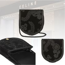 ★Celine 20冬★EMBROIDERED PASSEMENTERIES VELVET BAG バッグ