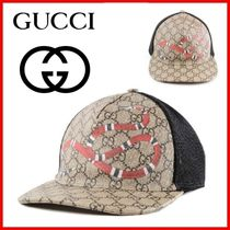 ◆GUCCI◆GG Supreme キャップ スネーク◆正規品◆