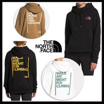 ★THE NORTH FACE★WALLS ARE MEANT FOR CLIMBING★パーカー