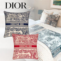 DIOR(ディオール)*未入荷*Toile de Jouy*small 正方形クッション