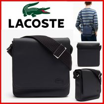 ◆LACOSTE◆Classic flap bag in small solid pique◆正規品◆