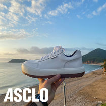 ASCLO Wish Leather Sneakers (2color)