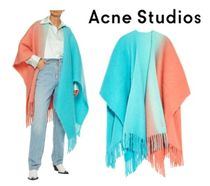 Acne Studios☆Kelow fringed degrade brushed knitted wrap