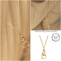 ◇VINTAGE HOLLYWOOD◆Hold the Ring Chain Necklace