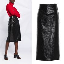 【関税送料込み】Maison Margiela Ostrich leather effect skirt
