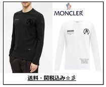 【MONCLER】20/21AW★袖にシリコンロゴ/プリント長袖T★関税込