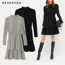 RESERVED(リザーブド) ワンピース 大人気【RESERVED】女子会&デートに大活躍☆綺麗なワンピースで