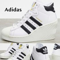 送料込 adidas Originals Superstar 80's heeled スニーカー