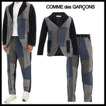 【Comme des Garcons】パッチワーク ツーピース セットアップ