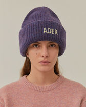 [ ADERERROR ] Mask beanie Purple