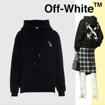 OFF WHITE ☆ Leaves arrows フーディ