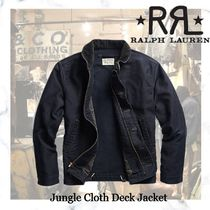 new!ロンハーマン取り扱い RRL-Jungle Cloth Deck Jacket-Navy