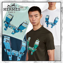 ◆Hermes 20SS 最新作◆Hermes Odyssee プリント Tシャツ◆