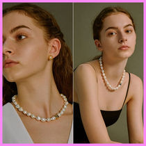 【Hei】classy baroque pearl necklace〜パールネックレス