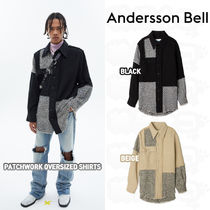 ★ANDERSSON BELL★PATCHWORK OVERSIZED SHIRTS