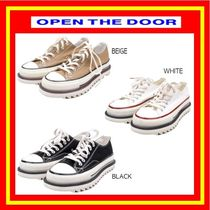[OPEN THE DOOR]  border line shoes ◆3 color◆ 追跡付