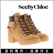 【SALE】See by Chloe◆Eileen カーフスキン 厚底アンクルブーツ