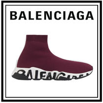 新色 20AW【BALENCIAGA】SPEED GRAFFITI スピード トレーナー