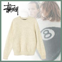 20AW◆STUSSY◆8 BALL HEAVY BRUSHED MOHAIR SWEATER