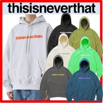 ☆韓国の人気☆【thisisneverthat】☆T-Logo Hooded Sweatshir.t