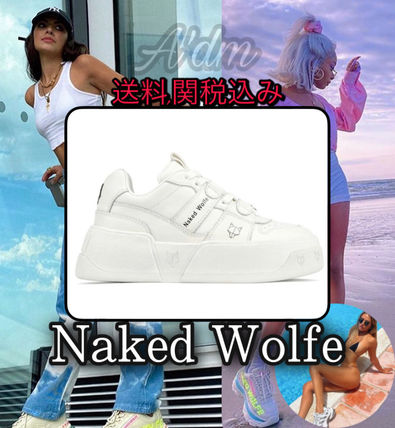 新作/在庫僅か★Naked Wolfe★ CROWN White
