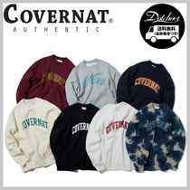 COVERNAT ARCH LOGO SWEAT SHIRTS YJ552 追跡付