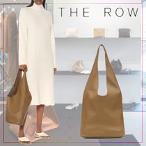 【THE ROW】Bindle Three leather tote 498574