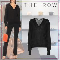 【THE ROW】Andrina cashmere sweater 511633