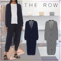 【THE ROW】Armando longline cashmere cardigan 477055