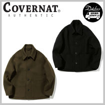 COVERNAT OVER FIT WOOL JACKET YJ562 追跡付