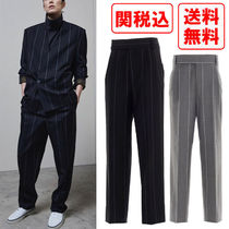 関税 送料込 Fear of god x ermenegildo zegna pinstripesパンツ