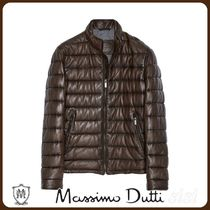 MassimoDutti♪QUILTED LEATHER JACKET